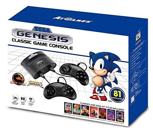 SEGA Genesis - Consola Retro Sega Mega Drive (81 Juegos)