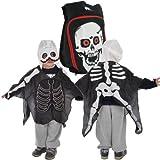Popak Pop Out traje mochila 4–7años, Skeleton, 4-7 Años