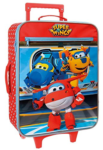 Super Wings Valigia per bambini, 50 cm, 25 liters, Multicolore