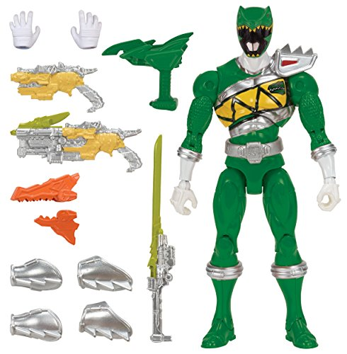 Power Rangers Dino Charge - 7 Armored Dino Green Ranger Action Figure