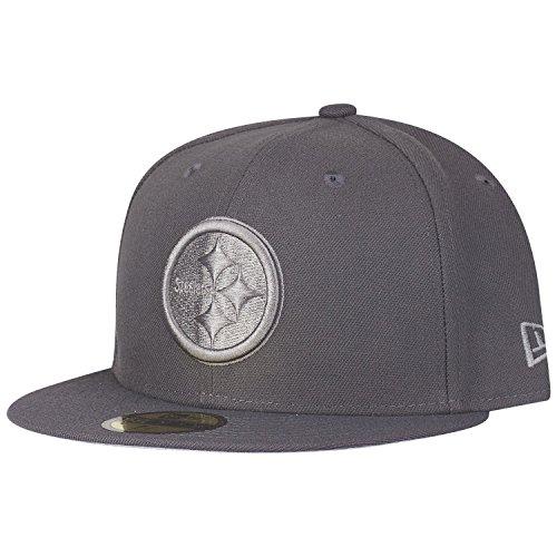 New Era 59Fifty Cap - Graphite Pittsburgh Steelers - 7 3/8