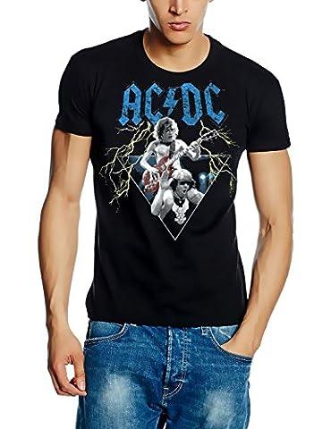 AC/DC - ANGUS & BRAIN - NEU - T-SHIRT, Schwarz, GR.XL