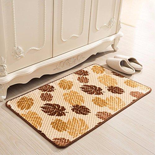 YANGFEIFEI-DD 59,9x 89,9cm/45x 119,9cm Modern Home Teppich, Badezimmer Teppich, Wohnzimmer Teppich, Teppich, Schlafzimmer Teppich, rutschfest Teppich, saugfähig Teppich, gelb, 60*90CM (Tape Pad Verpackung)