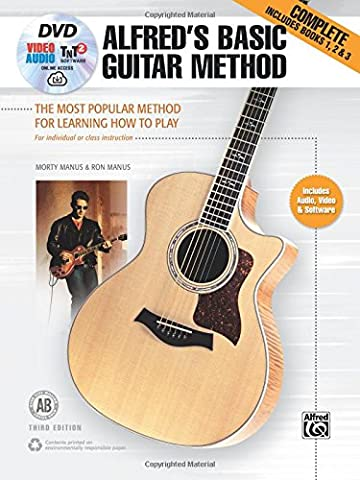 Alfred's Basic Guitar Method, Complete: The Most Popular Method for Learning How to Play, Book, DVD & Online Audio, Video & Software (Alfred's Basic Guitar