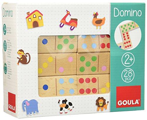 Goula - Dominó, pack de 28 piezas (Diset 50263)