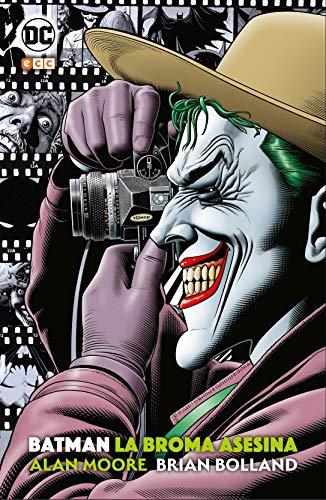 El legendario escritor Alan Moore redefinió la figura del superhéroe con Watchmen y V de Vendetta. En Batman: La broma asesina, aborda los orígenes del mejor supervillano del cómic, el Joker... y con ello cambia el mundo del Hombre Murciélago para si...