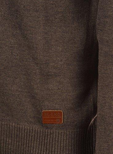 BLEND 703656ME Cardigan, Größe:M;Farbe:Mocca Mix (70816) - 5