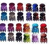 cuhair 20pcs Bangs Mini Frauen Mädchen Haarspangen Haarklammern Haarclips Haarspange