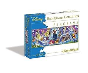 "Clementoni ""Disney Family"" Panorama Puzzle (1000-Piece, Multi-Colour)"