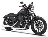 2013 Harley Davidson Sportster Iron 883 [Maisto 32326], Black, 1:12 Die Cast