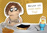 Postkarte A6 +++ WIWALDI von modern times +++ NICHT MEIN TAG - CHARMING TRAUDL +++ MODERN TIMES bigSmile Entertainment GmbH/WIWALDI