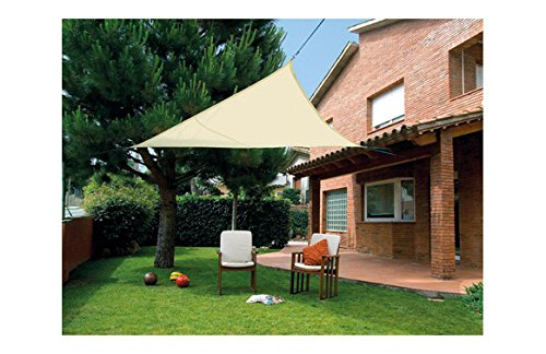 Desconocido Kit SunNet Paravent Triangle imperméable Beige