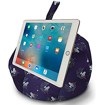 Black Cats Bean bag cushion stand for iPad tablet kindle book Handmade