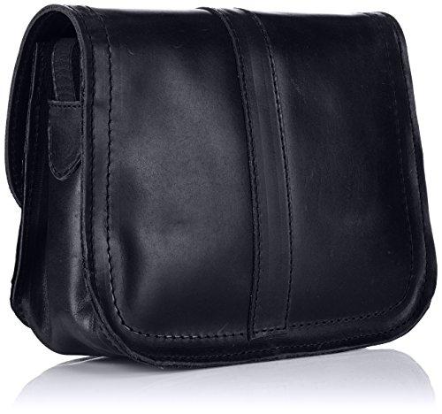 FLY London Stamp, sac bandoulière Noir - noir