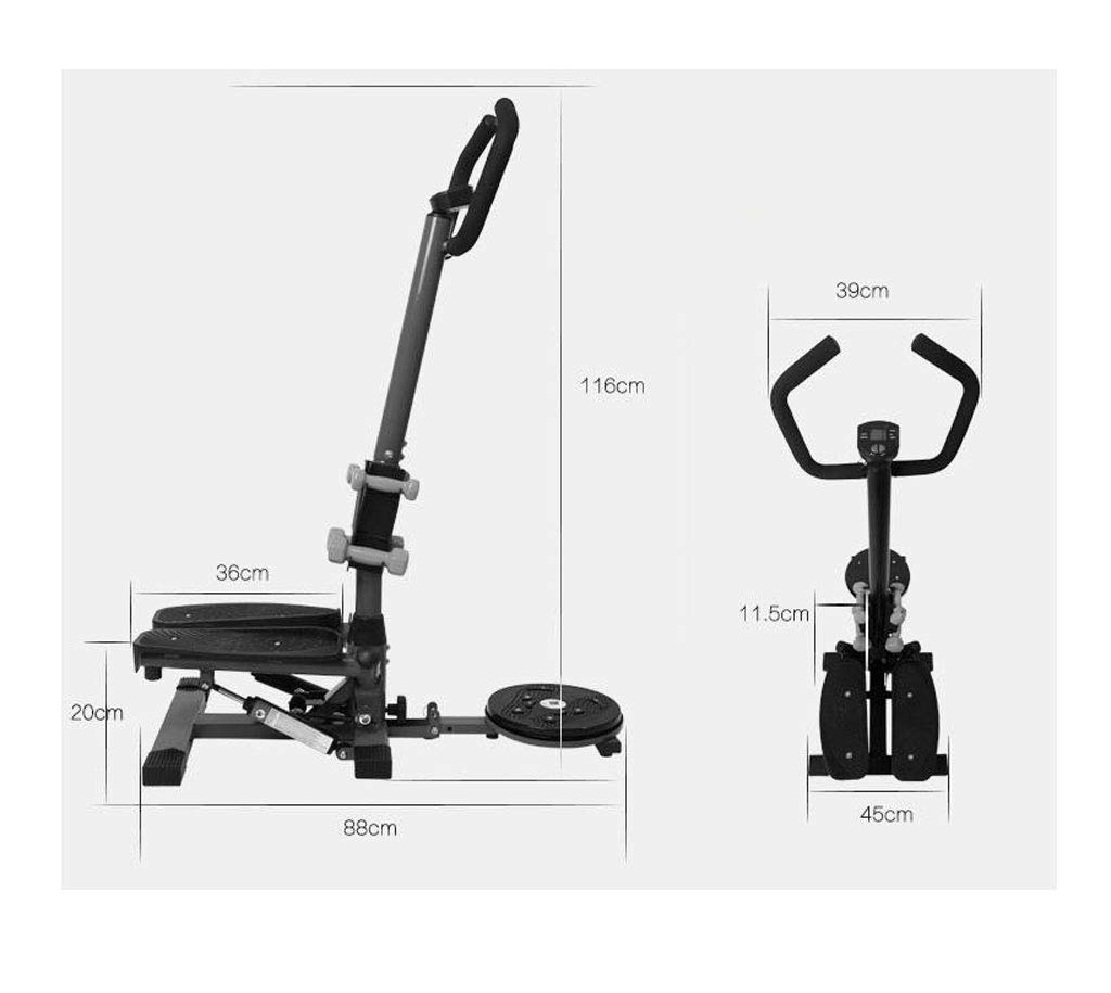 514 FekdtxL - LY-01 Steppers Stepper With Armrests,mute Multi-function Stepper Hydraulic Climbing Stepper Pedal Exercise