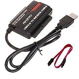 """AKORD® USB 2.0 Hard Drive Reader 2.5"""" 3.5"""" 5.25"""" IDE SATA SATA2 Convertor Adapter"""