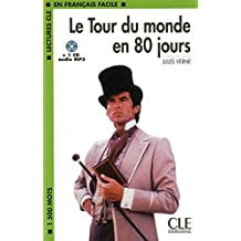 Le Tour du monde en 80 jours + CD MP3