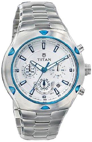 514 Iix1n0L - Titan NE9468KM01J Octane Chronograph Mens watch