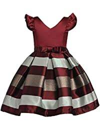 Vestiti da partito di compleanno di nozze della principessa di Natale hibote  ragazze per bambini 1d0d59d0bf6
