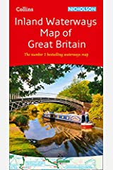 Collins Nicholson Inland Waterways Map of Great Britain: The number 1 bestselling waterways map (Nicholson Waterways Map) Map