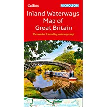 Collins Nicholson Inland Waterways Map of Great Britain: The number 1 bestselling waterways map (Nicholson Waterways Map)