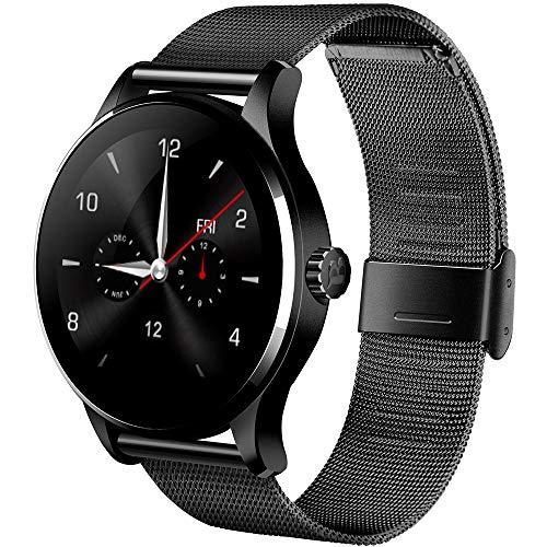 XZZ Smart Watch, Sports Fitness Activity Tracker Herzfrequenz-Blutdruck Sleep Monitoring Bluetooth Compatible Android und iOS Phones,1