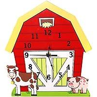 Fantasy Fields by Teamson Happy Farm Orologio da Parete, Multicolore