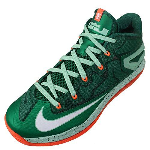 Nike Max Lebron XI Low (118) mystic green white medium mint hyper cobalt 313