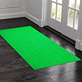 #8: Kuber Industries™ PVC Thick Doormat for Offices,Hotel ,Restaurtaurant,Home,Shop Color- Green (Extra Large) Size : 90 cm x 60 cm x 1.5 cm