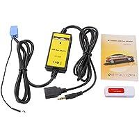 Adaptador de Cable Auxiliar USB de 8 Pines para VW Passat Golf/Skoda Octavia