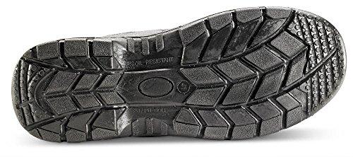 B-Click Footwear, Scarpe antinfortunistiche uomo Nero nero Nero (nero)