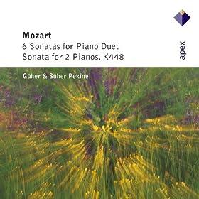 Sonata for Piano Duet in C major K521 : I Allegro
