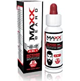 Maxx Beard - #1 Facial Hair Solution, Natural Solution for Maximum Beard Volume-2 Month Supply- 100% Satisfaction Guaranteed by maxx beard