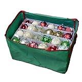 Aufbewahrungstasche für Weihnachtsdekoration, mit Fächern, für bis zu 72 Weihnachtskugeln