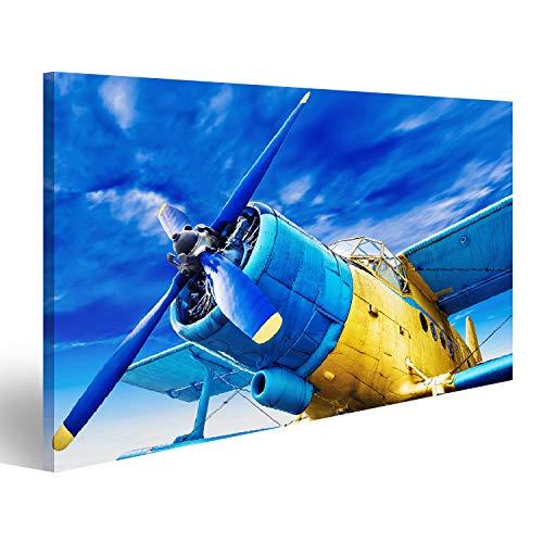 bilderfelix Tableau sur Toile Avion Ancien Images Affiche TJC