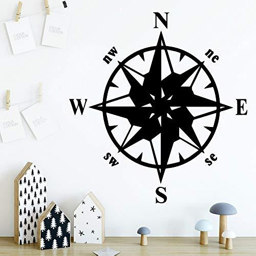 yaonuli Nordischen Stil kompass wandtattoos Aufkleber wohnkultur Wohnzimmer Schlafzimmer Familie Party decoration45x48cm