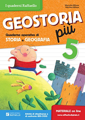 Geostoria. Quaderno operativo di storia e geografia. Per la Scuola elementare: 5