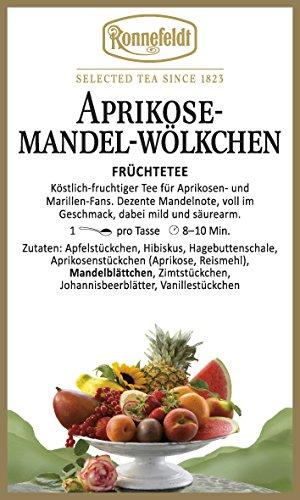 Mandeln Aprikosen (Ronnefeldt - Aprikose-Mandel-Wölkchen - Früchtetee - 100g)