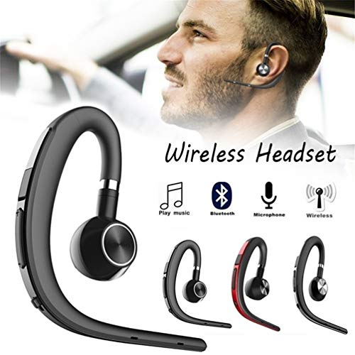 YOUXIU Bluetooth-Headset für Unternehmen, Bluetooth V4.1 CVC 6.0 intelligente Rauschunterdrückung Sprachsteuerung Stereo für Sport iPhone IOS Samsung LG Motorola,Gold Gold Motorola Headset