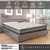 Best Las camas tienen colchones viscoelásticos - Komfortland Colchón 135x190 viscosoft Reversible Memory Soft de Review