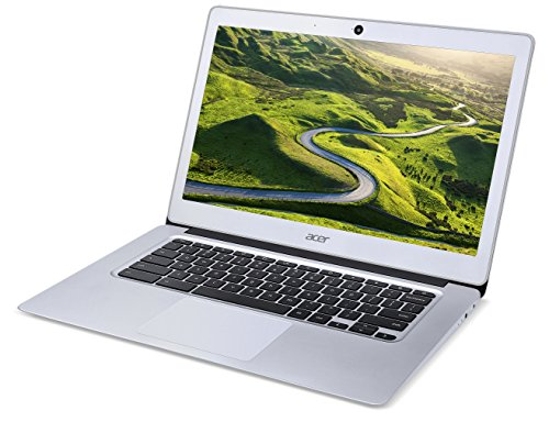 Acer Chromebook 14 CB3-431 14-Inch Notebook - (Silver) (Intel N3060 Celeron Processor, 2 GB RAM, 32 GB eMMC, Chrome OS)