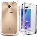 Coque Galaxy A3, Miss Arts [Crystal Clear] Premium Scratch résistant souple TPU pare-chocs et retour Étui housse pour Samsung Galaxy A3 2016 -Transparent