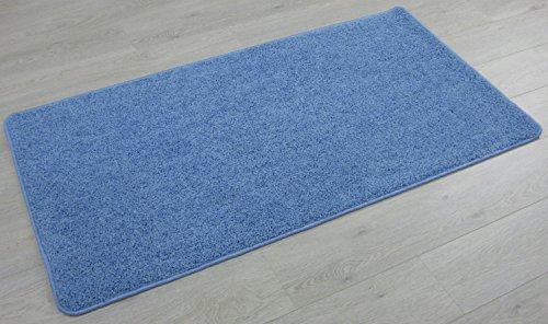 Alfombra de pelo Batan, varias colores y dimensiones (100 x 150 cm , azul claro)