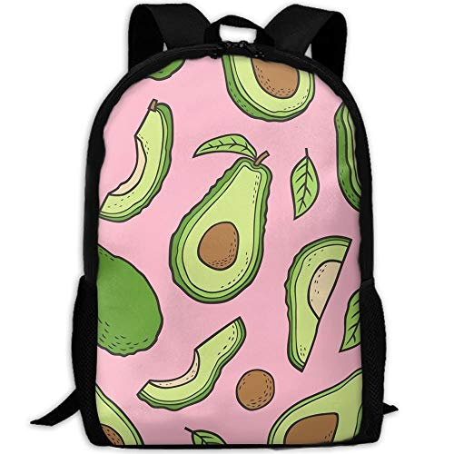 jhguihuyftyrtytgjkh Avocado Stylish Laptop Backpack School Backpack Bookbags College Bags ypack