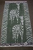 "Generic Zebra cotton Velour Jacquard Beach Towel (40"" x 70"")"