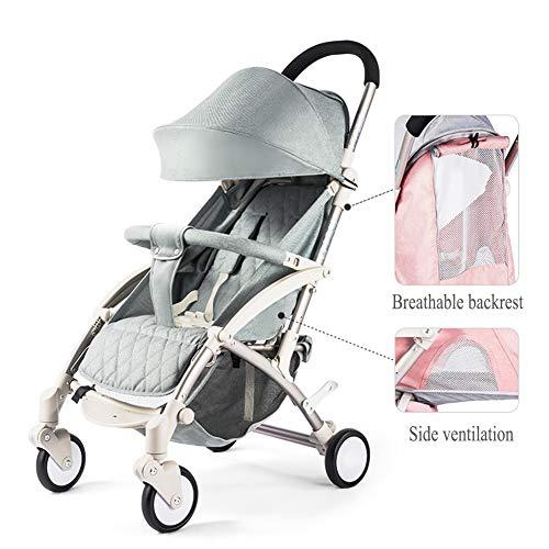 GSDZN - Kinderwagen Pushchair Buggy Kann Stoßsicheren Leichten Neugeborenenwagen Sitzen Oder...