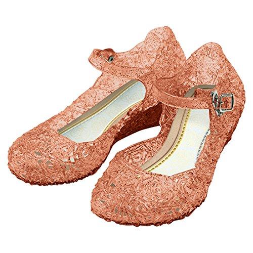 Imagen de katara  zapatos para disfraz de princesa color rosa, eu . 32 tamaño del fabricante 34  alternativa