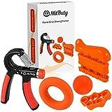 Best Fortalecedores Grip - MitButy Hand Grips - Kit de 5 Fortalecedores Review