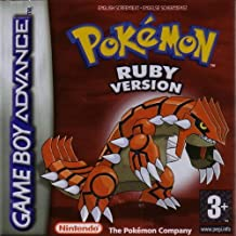 Pokemon Rubi GAME BOY ADVANCE [Edicion Española]