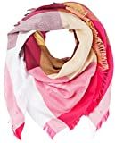 BOSS Damen Nalogo Schal, Rosa (Bright Pink 670), One Size (Herstellergröße: STÜCK)